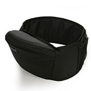 Baby Hipseat + Wrapper - Black