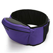 Baby Hipseat + Wrapper - Purple