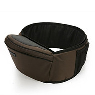 Baby Hipseat + Wrapper - Brown