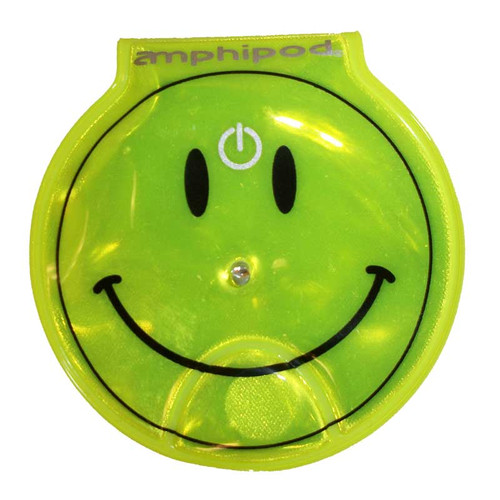 Amphipod Neon Smiley Vizlet LED Clip-On Reflector