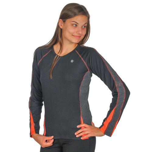 Women's illumiNITE Reflective Dovetail Long Sleeve Running Shirt