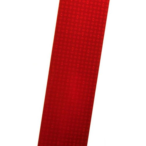 Red Reflexite V82 Reflective Conspicuity Tape 2x12 Strip