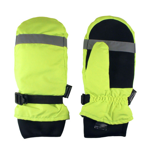 Super Work Duty Hi Vis Insulated Mitten