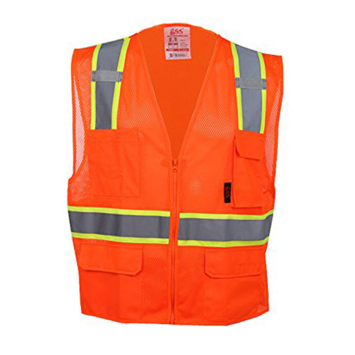 1501/1502 Class 2 Multi-Purpose Vest w/ 6 pockets
