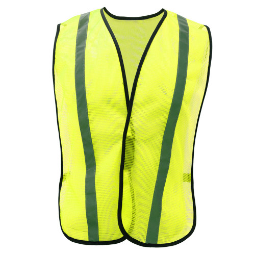 3001 NON ANSI MESH SAFETY VEST WITH HOOK & LOOP CLOSURE