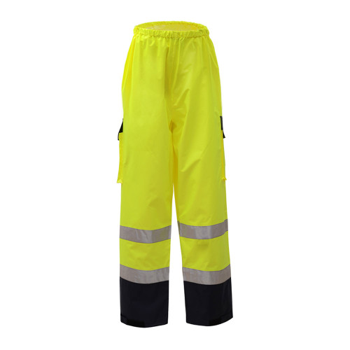 6803 GSS Class E Premium Rain Pants with Black Bottom