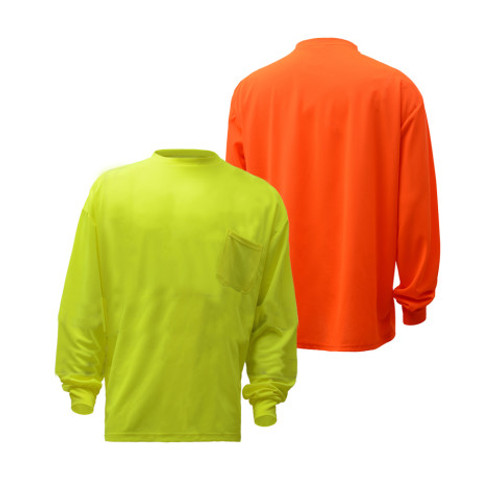 5503/5504 Non-ANSI Enhanced Long Sleeve T-Shirt