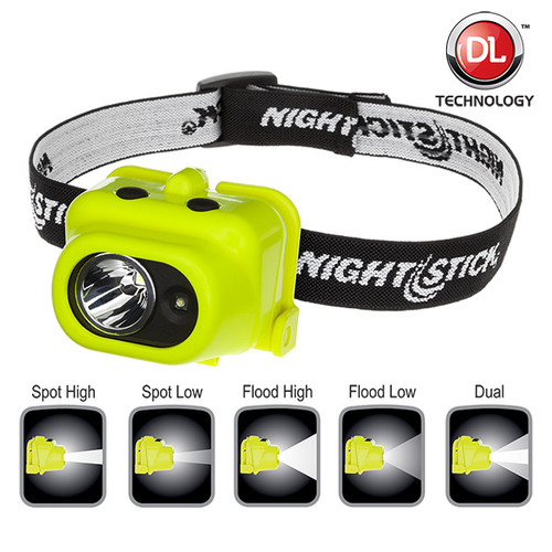 Intrinsically Safe Multi-Function Dual-Light™ Headlamp XPP-5454G