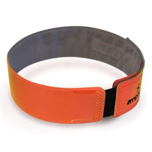 Amphipod Stretch Bright Arm Band in Bright Orange