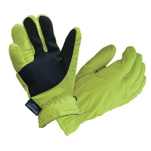 Waterproof Thinsulate Nylon Hi-vis Gloves
