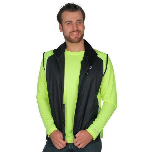 Triathlon Vest for Men in Flo Lime