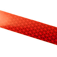 Red Reflexite V92 Daybright Conspicuity Tape 1x18 Strip