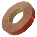 "Red OEM Reflexite V82 Reflective Conspicuity Tape - 1"" x 150' Roll"