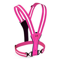 Pink Amphipod Reflective Xinglet Flash LED Vest