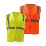 1001/1002 Class 2 Mesh Zip Vest