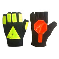 Glo Glov Super Stop Reflective Traffic Safety Gloves