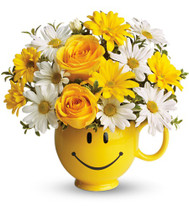 Smile and Be Happy Bouquet