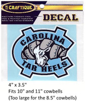 North Carolina Tar Heels Decal
