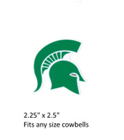 """Michigan St. Spartans Decal (2.25"""")"""