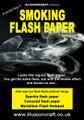 Smoking Flash Paper