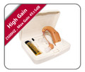 High-Gain Rechargeable Hearing Amplifier (Behind-The-Ear)