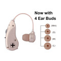 Battery-Operated Hearing Amplifier - BTE (Behind-The-Ear)