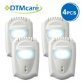 (4 Pack) Anion Air Purifier with LED night light