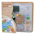 ES Animal World Large Coloring Bath Set