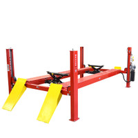 W-14 Weaver Lift 4-Post 14,000-lb. Capacity Lift (shown with optional W-7 Roller Jacks)