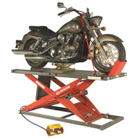 K&amp;L MC625R Motorcycle Air Lift Red