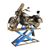 K&amp;L MC615R Air Motorcycle Lift