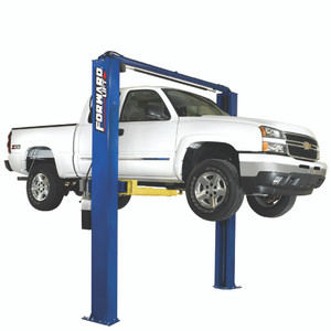 Forward Lift I10 Certified 2 Post Lift With Chevy 1500