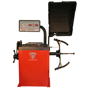 Weaver W-957M Motorcycle Wheel Balancer includes W-957 Wheel Balancer and W-MJ II Motorcycle Shaft Kit