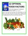 12 Optimal Food Factors – A Pro-Vita! Optimal Meal Worksheet - WellnessWiz Jack Tips