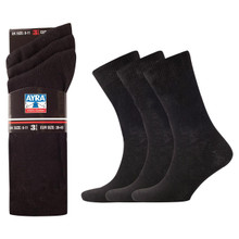 Mens 100% Cotton Socks, 6-11