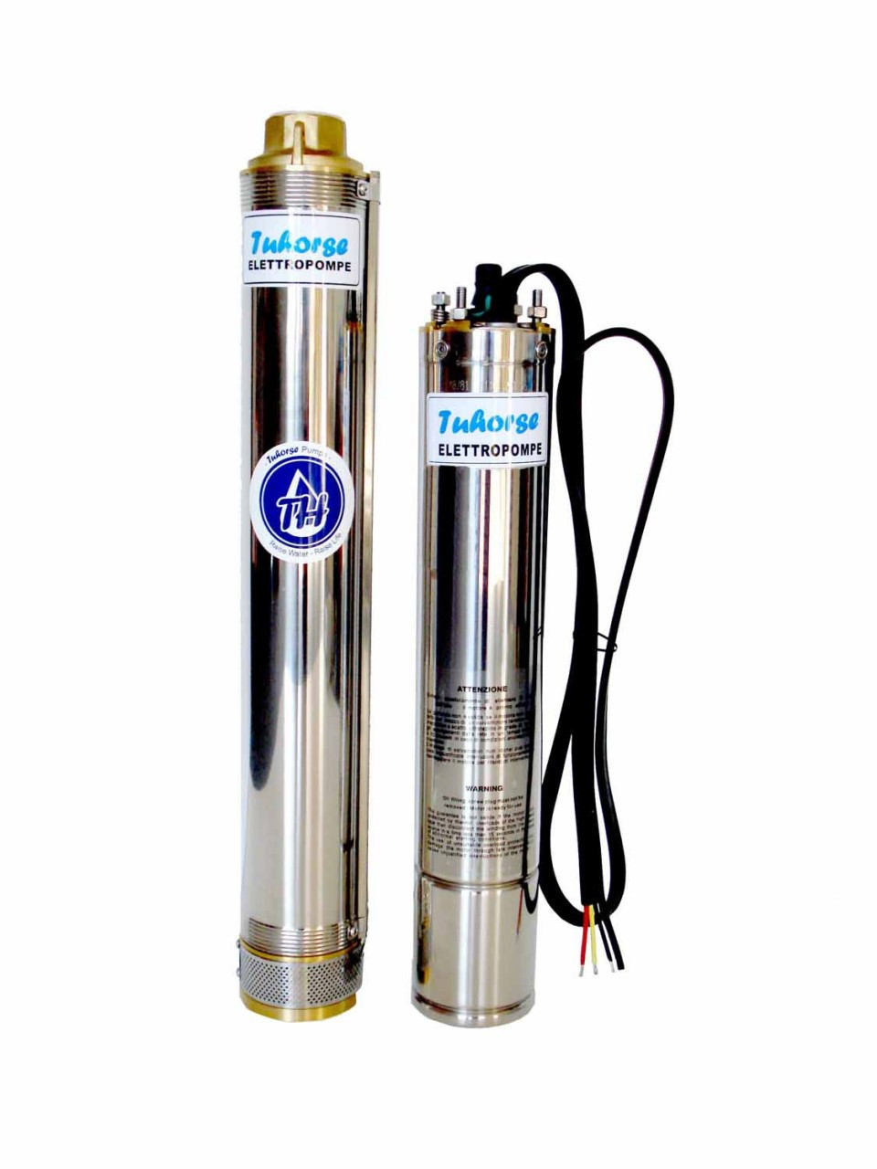 4 Inch Deep Well Submersible Pump 3hp 30gpm 3 Phase 460v