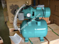 1.0 HP Centrifugal pump with built in pressure control and pressure tank.