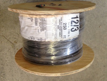 12/3 with ground HD jacketed submersible pump wire / cable, 4 conductors flat