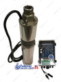 "3"" 210W Solar Powered Submersible Deep Well Pump 3THS03S36V210"