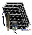 Tuhorse solar pump kit - 1000 Watts deep well pump with 4 x 195W PV panels