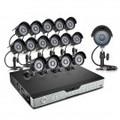 Zmodo 16CH DVR Surveillance System & 16 600TVL CCD Cameras-1TB HDD