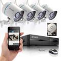 4CH 720P HD Network sPoE NVR Security System & 4 IP Cameras-1TB HDD