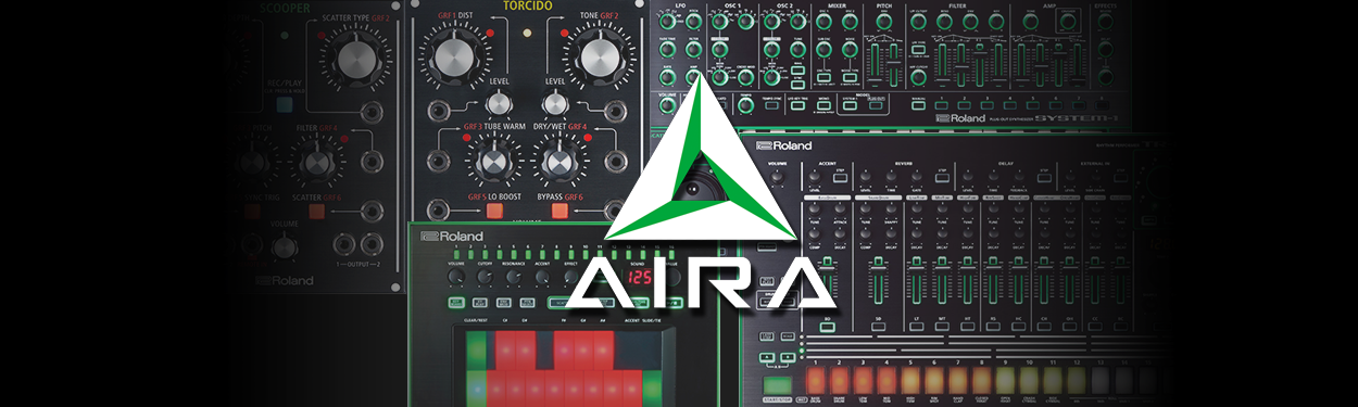 Roland Aira line of products