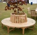 teak tree bench