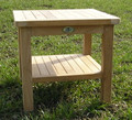 50cm Square Teak Coffee Table  teak garden furniture from chairsandtables.co.uk