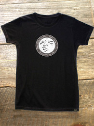"The Salty Surfer Tribal Vibe Women's ""circle"" HEMP t-shirt"