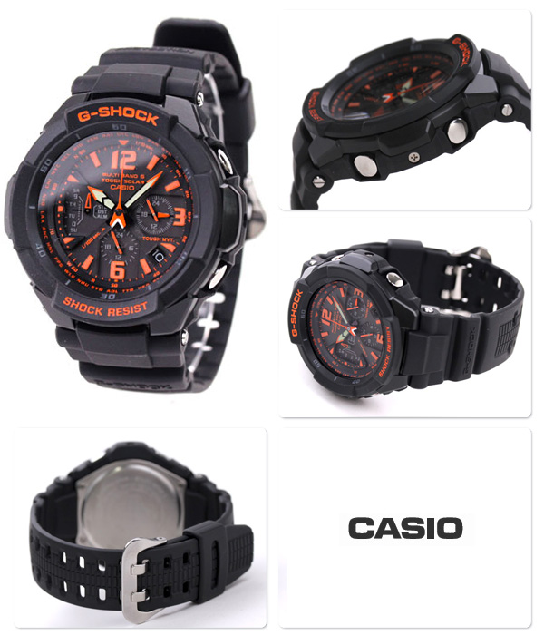 how to set time on g shock gw 300