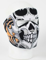 Face Mask - Tribal Skull Neoprene