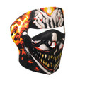 Face Mask - Smoking Clown Neoprene