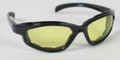 BIKER SUNGLASSES  - Yellow Arizona